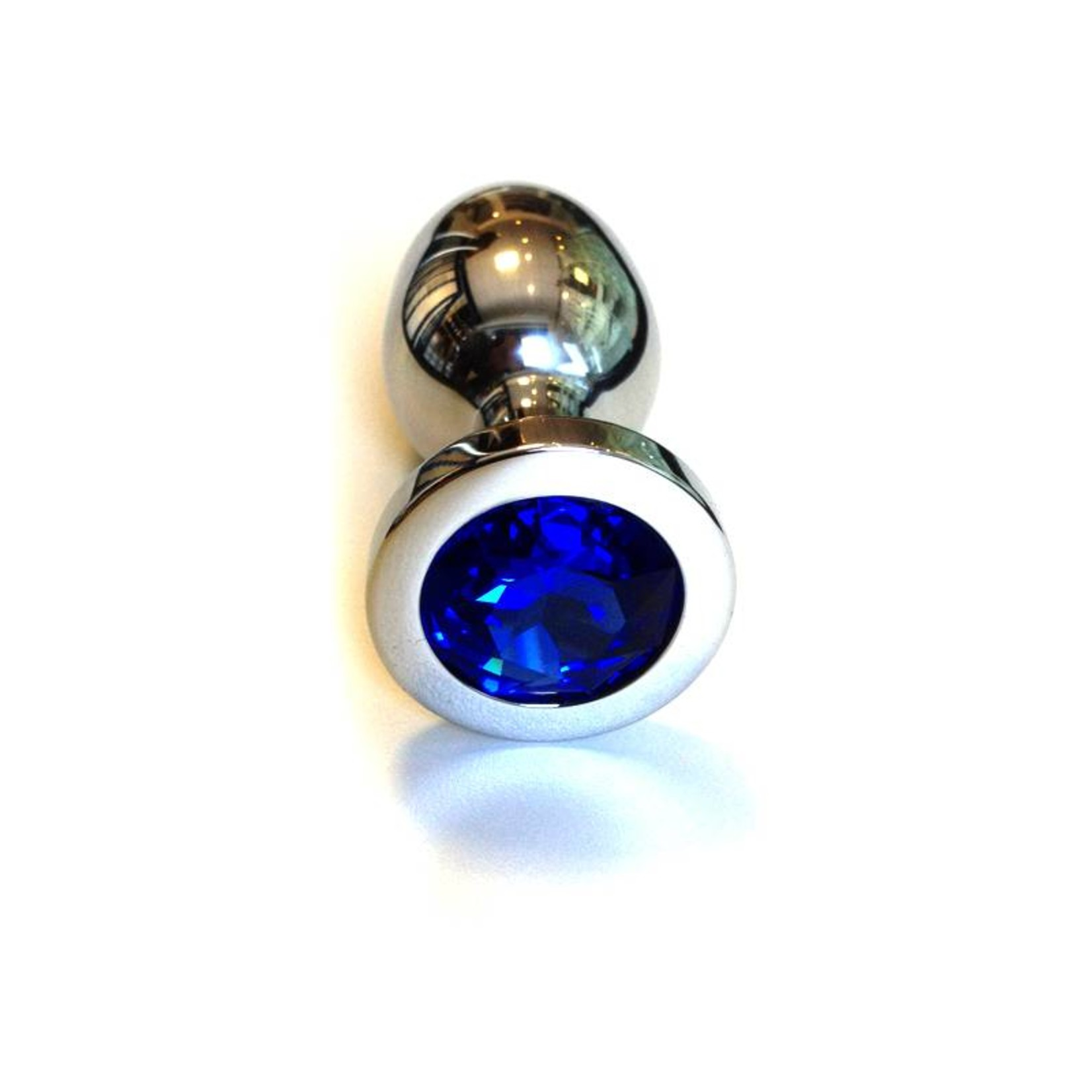 KIOTOS Steel Jewel Buttplug - Large Blue