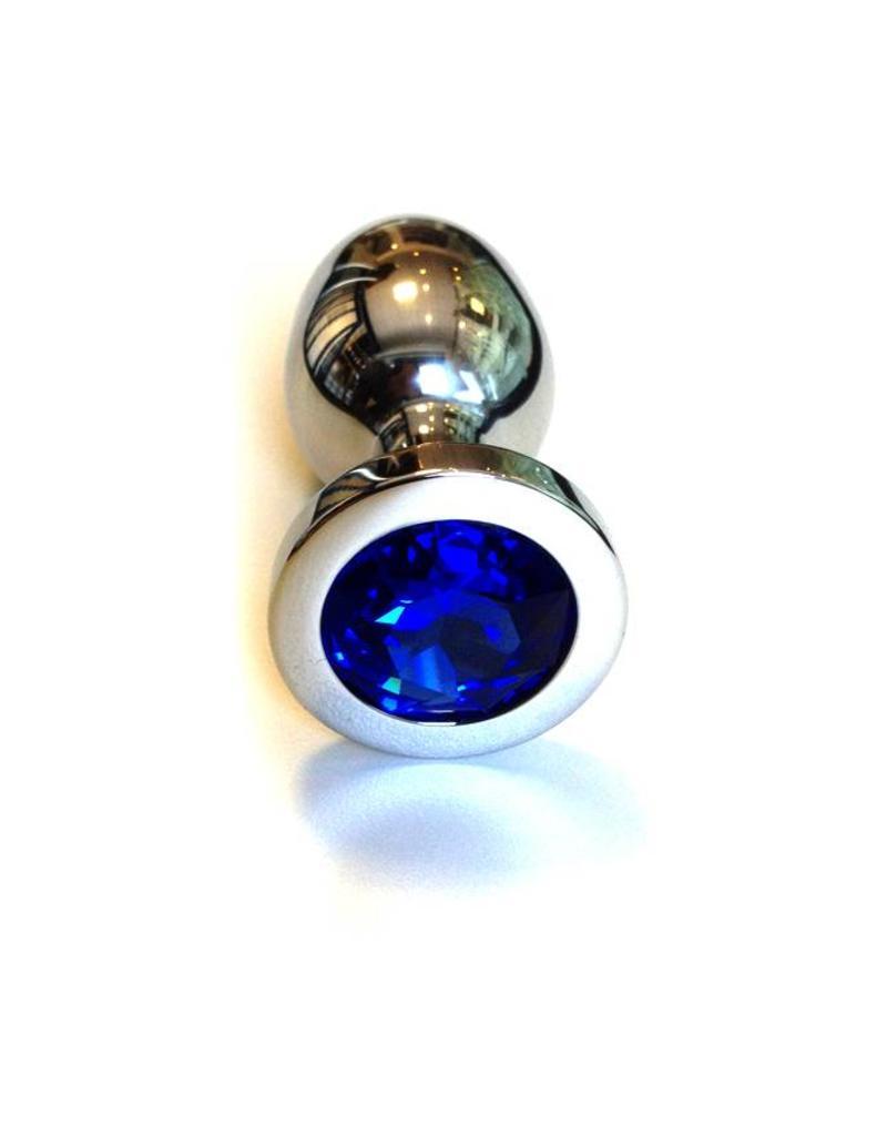 KIOTOS Steel Jewel Buttplug - Large Blue