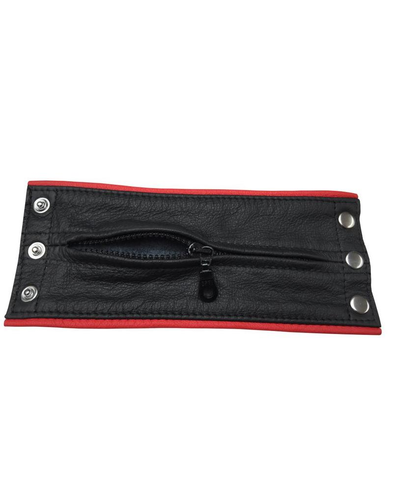 KIOTOS Leather Leather bracelet wallet red