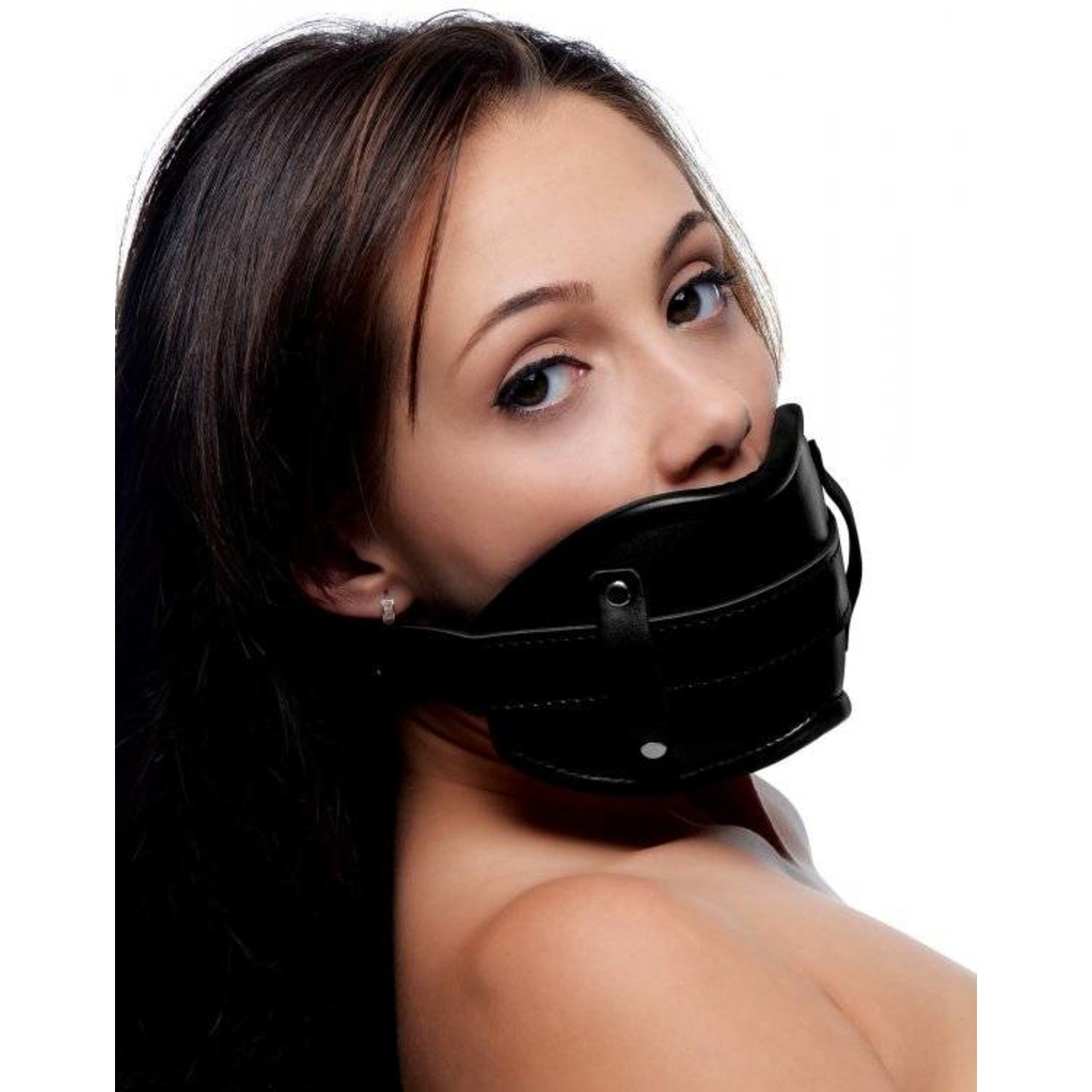 Strict Cock Head Silicone Mouth Gag