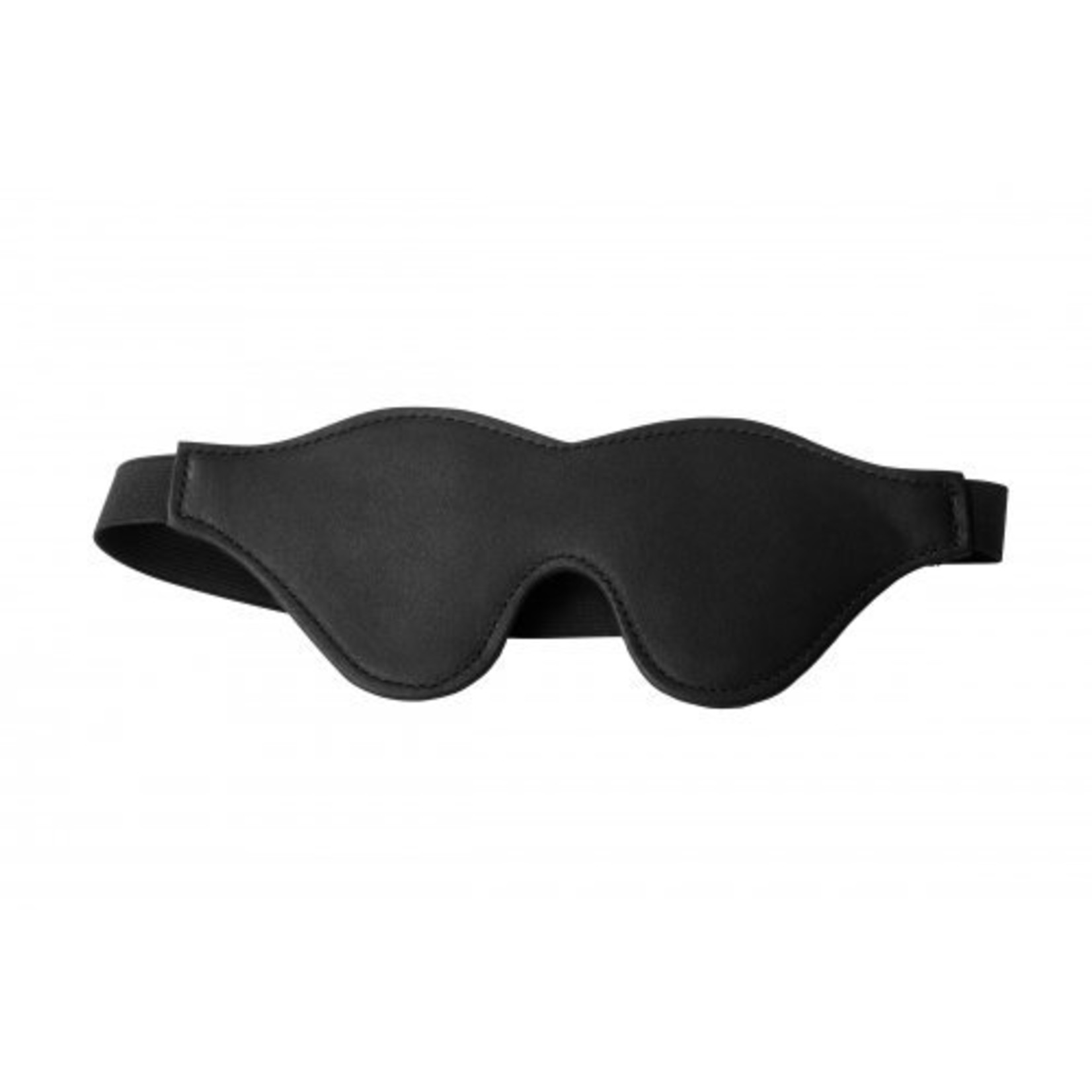 Strict Black Fleece Lined Blindfold