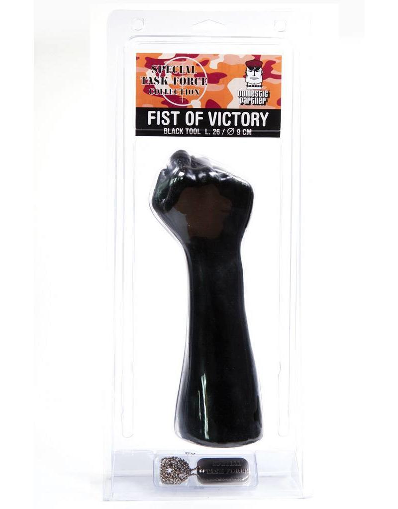 Domestic Partner Fist of Victory Black