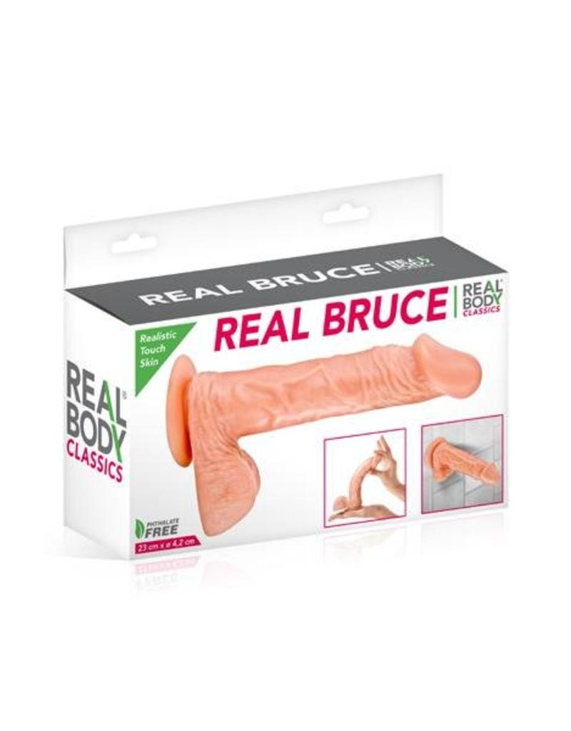 Real Body Gode Realiste Real Body Bruce 8p