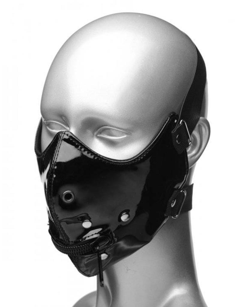 Master Series Lektor Zipper Mouth Muzzle