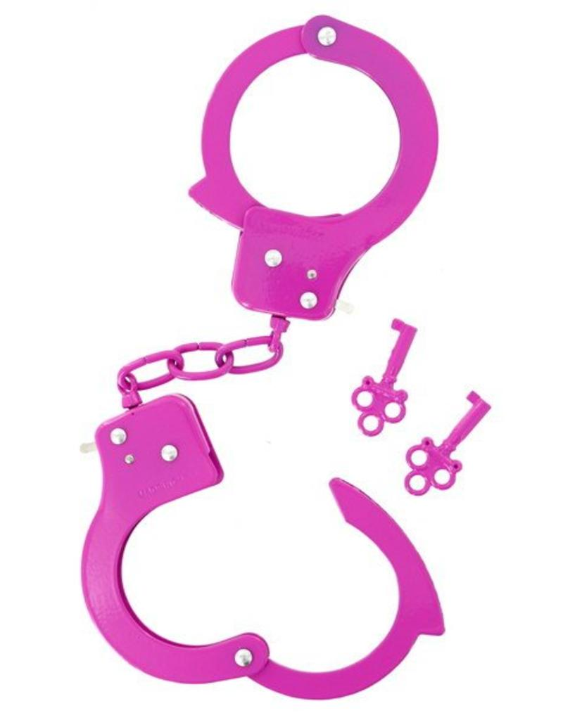 NMC Metal Cuffs Pink