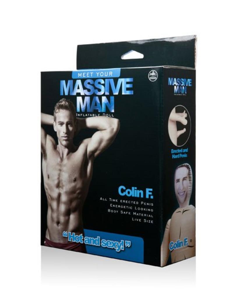 NMC Massive Man Sex  Doll Colin F.