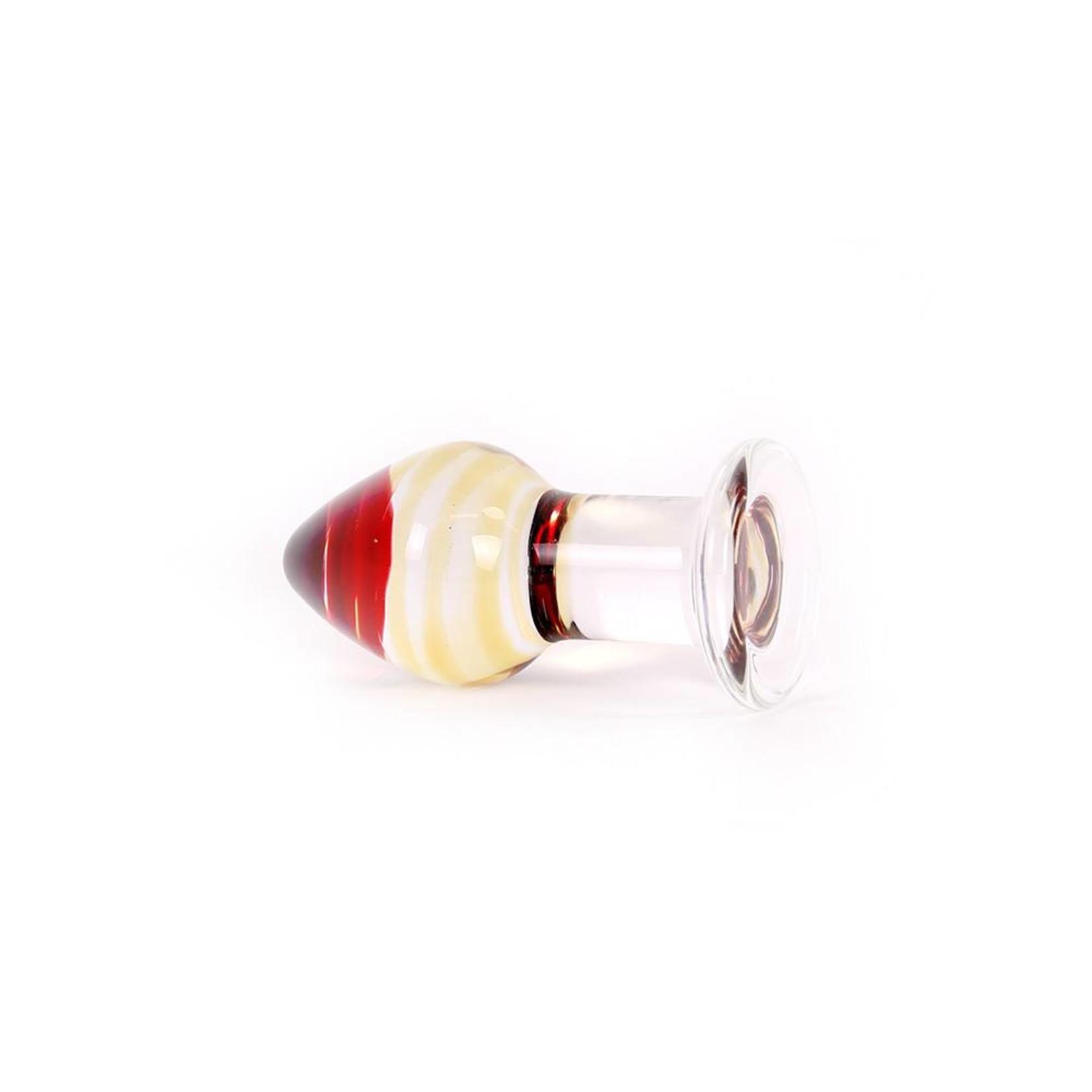 Kiotos Glass Glass Dildo Color Butt Plug