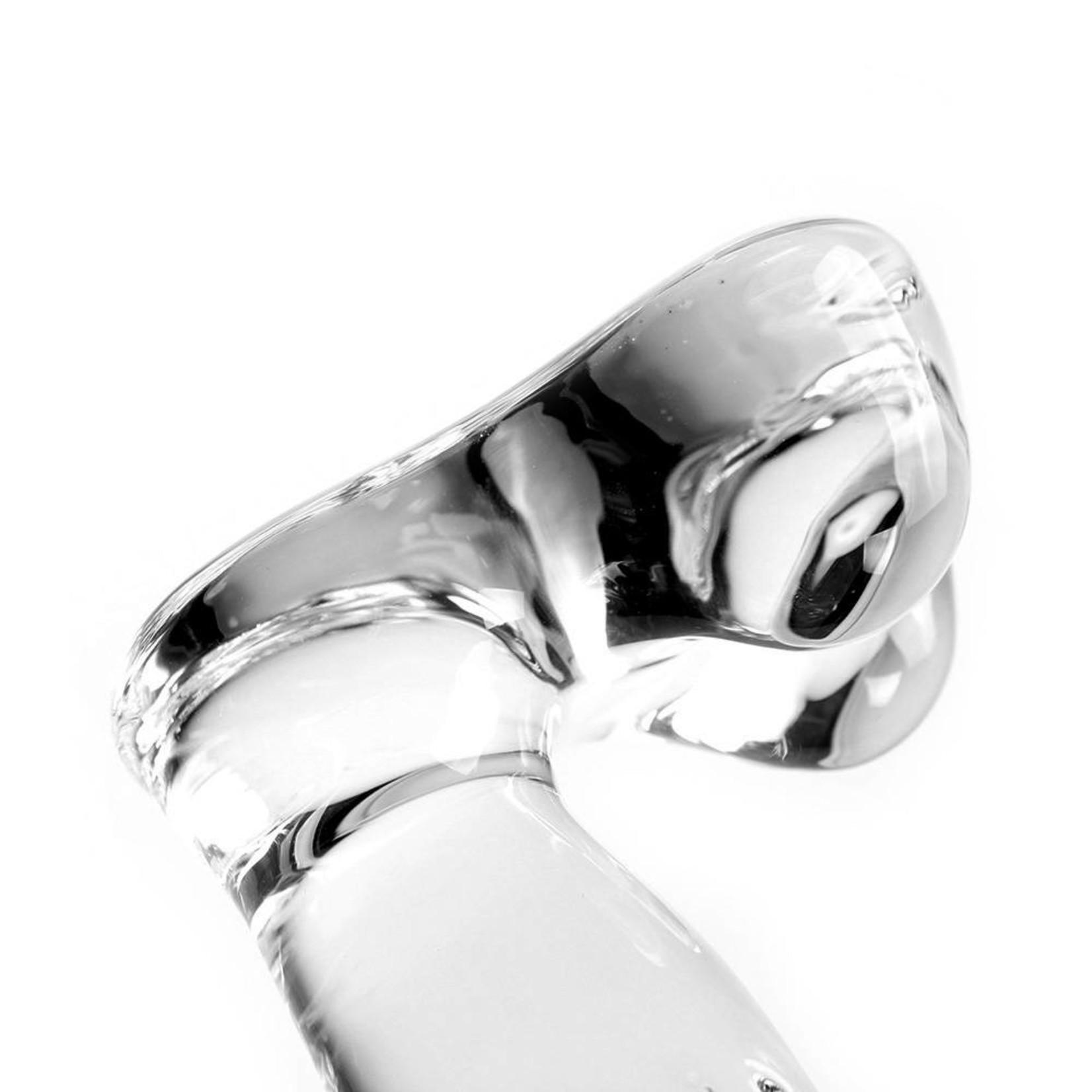 Kiotos Glass Glass Dildo Clear Penis Thick