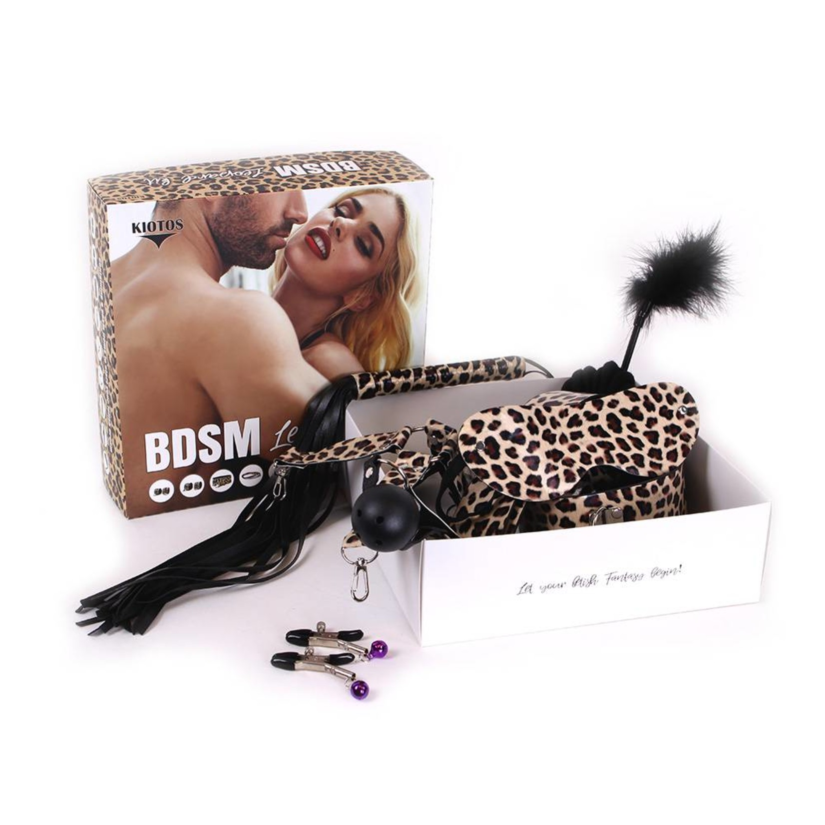 KIOTOS Bondage Set | BDSM Leopard Kit
