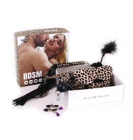 KIOTOS BDSM Leopard Kit met 9 (+2 Extra Gratis) items