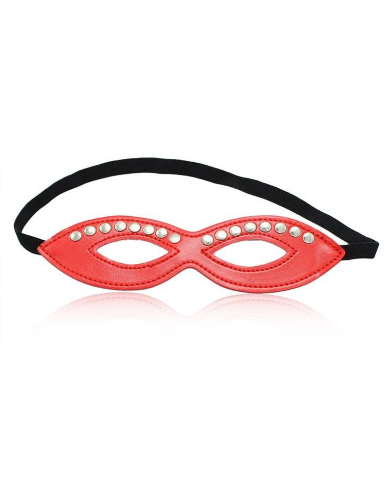 Perfect Lover Mask Eyes Only Red with Studs