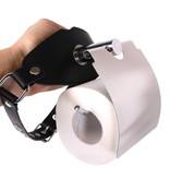 KIOTOS Steel Ball Gag Toilet Roll Holder