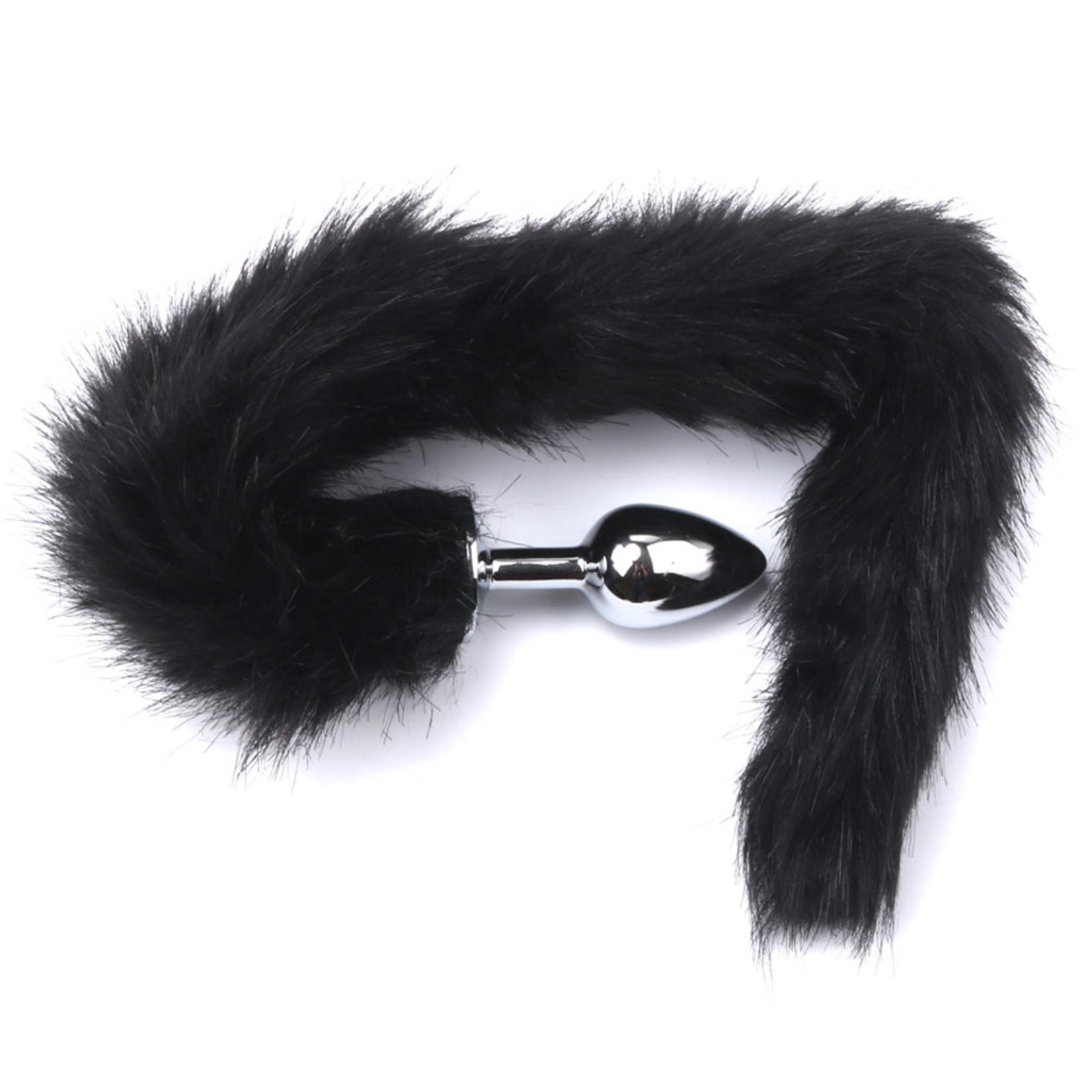 KIOTOS Steel Fox Tail Plug Black Short