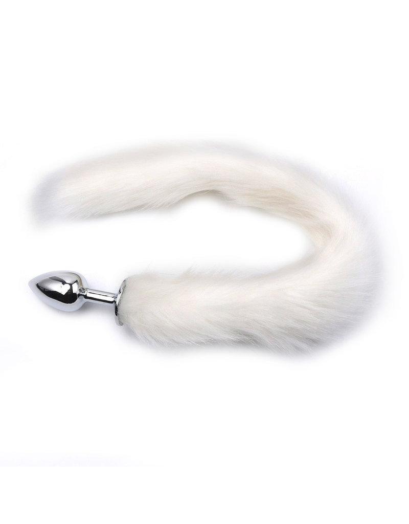 KIOTOS Steel Fox Tail Plug White - Short