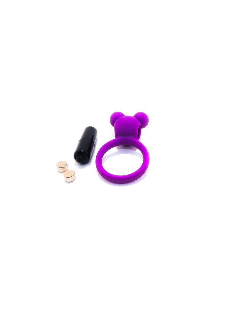 Virgite Vibrating Ring - Purple