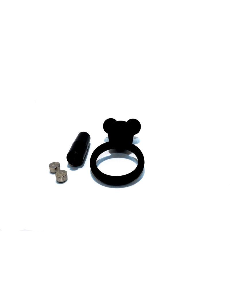 Virgite Vibrating Ring - Black