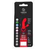 Virgite Mini Dual Vibrator - Black