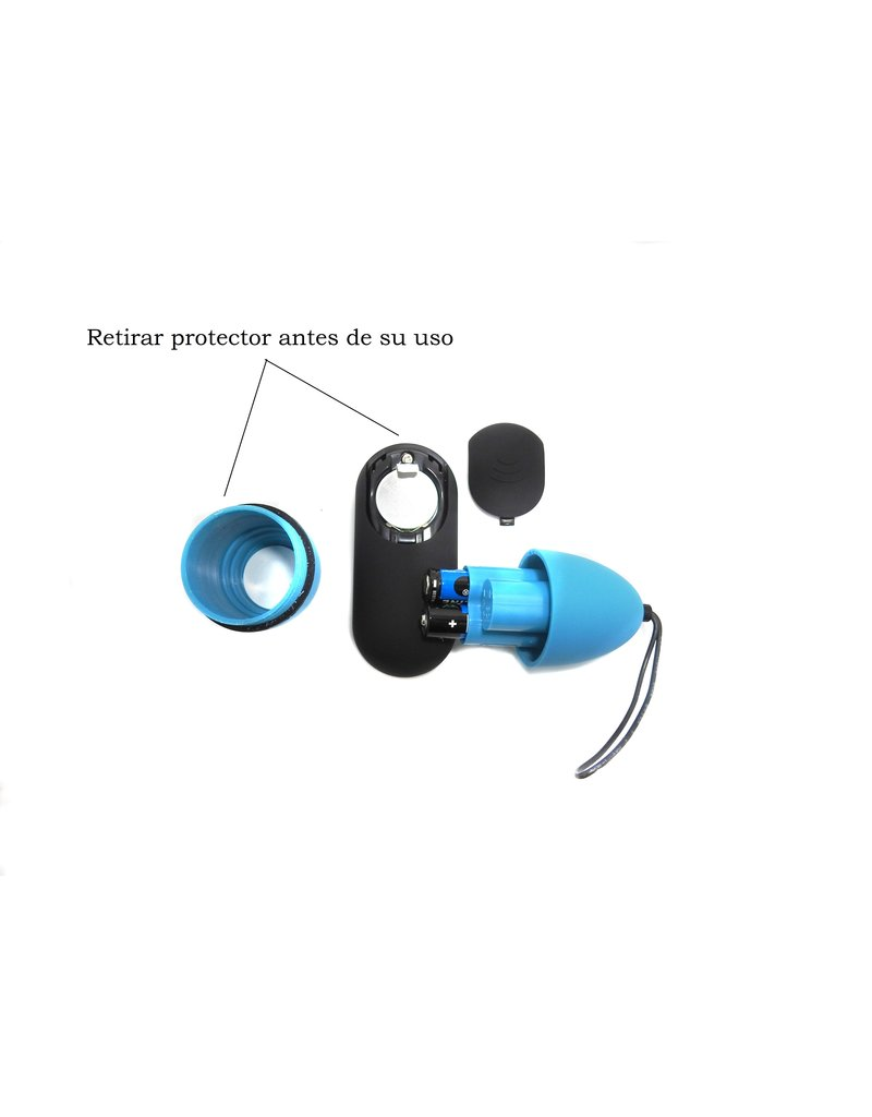 Virgite Remote Control Egg G2 - Blue