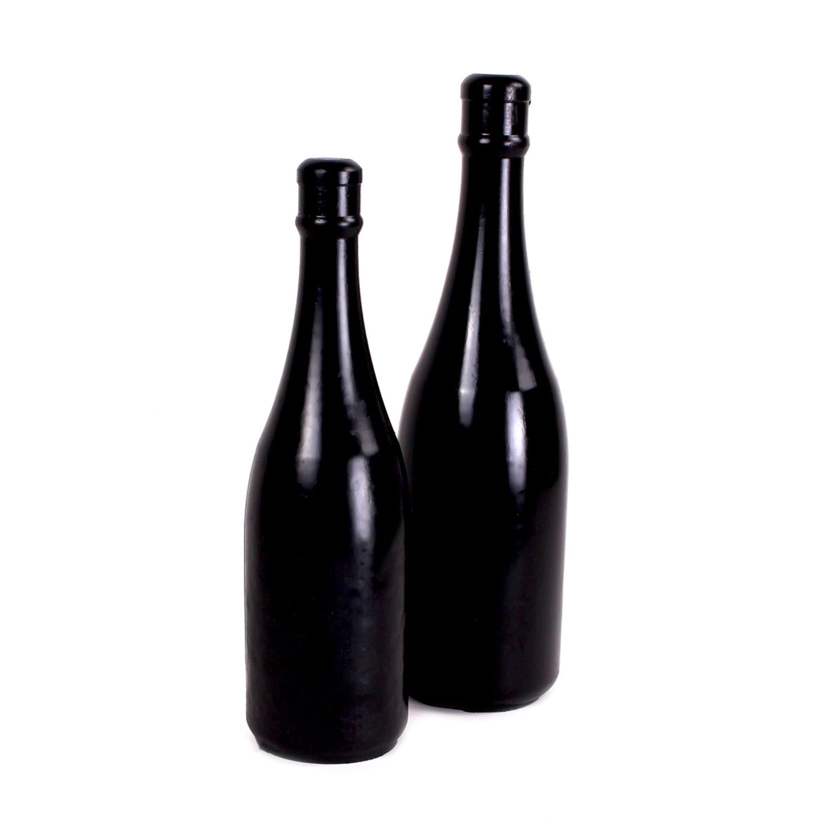 All Black Champagne Bottle Large