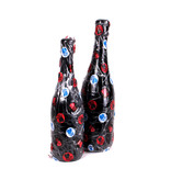All Black Champagne Bottle Large