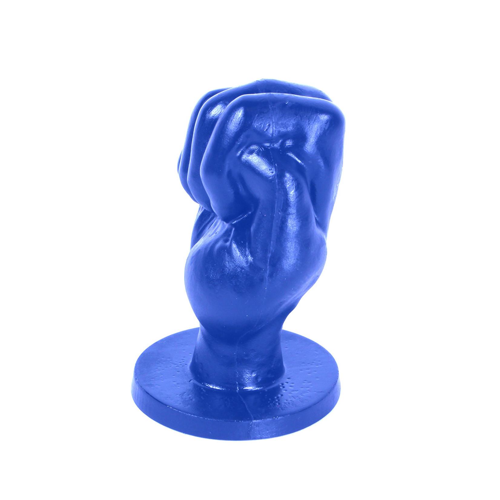 All Black All Blue Fist Small - ABB92