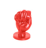 All Black All Red Fist Small - ABR92