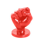 All Black All Red Fist Medium - ABR93
