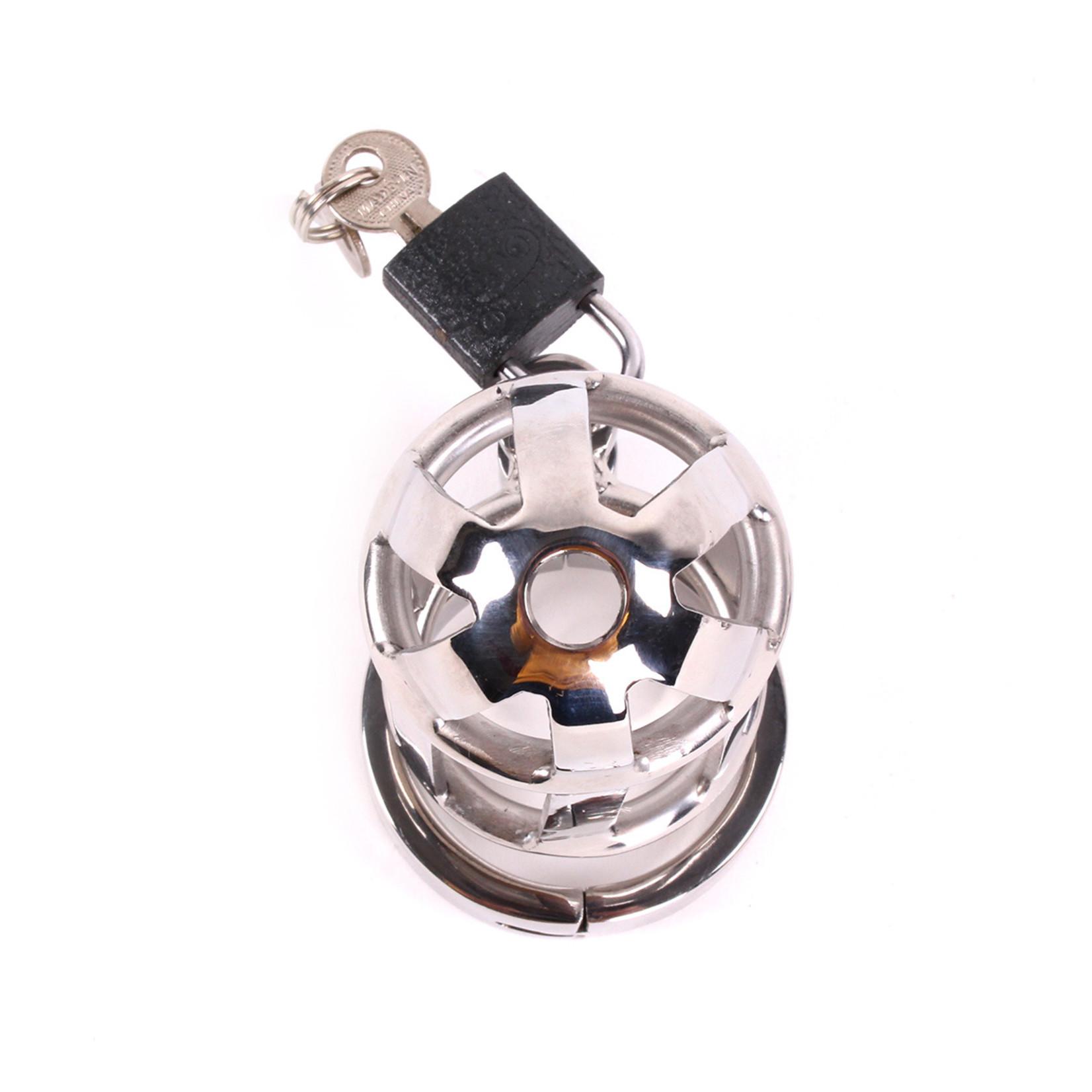 KIOTOS Steel Chastity Cage DeLuxe 8 cm