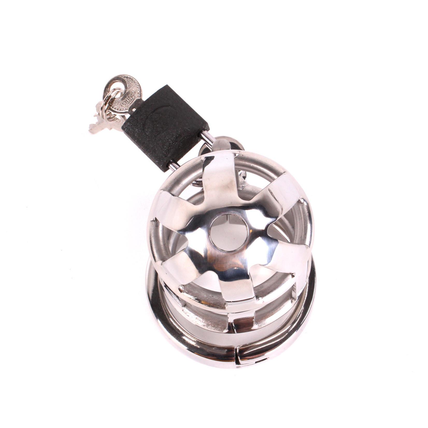 KIOTOS Steel Chastity Cage DeLuxe 6.5 cm