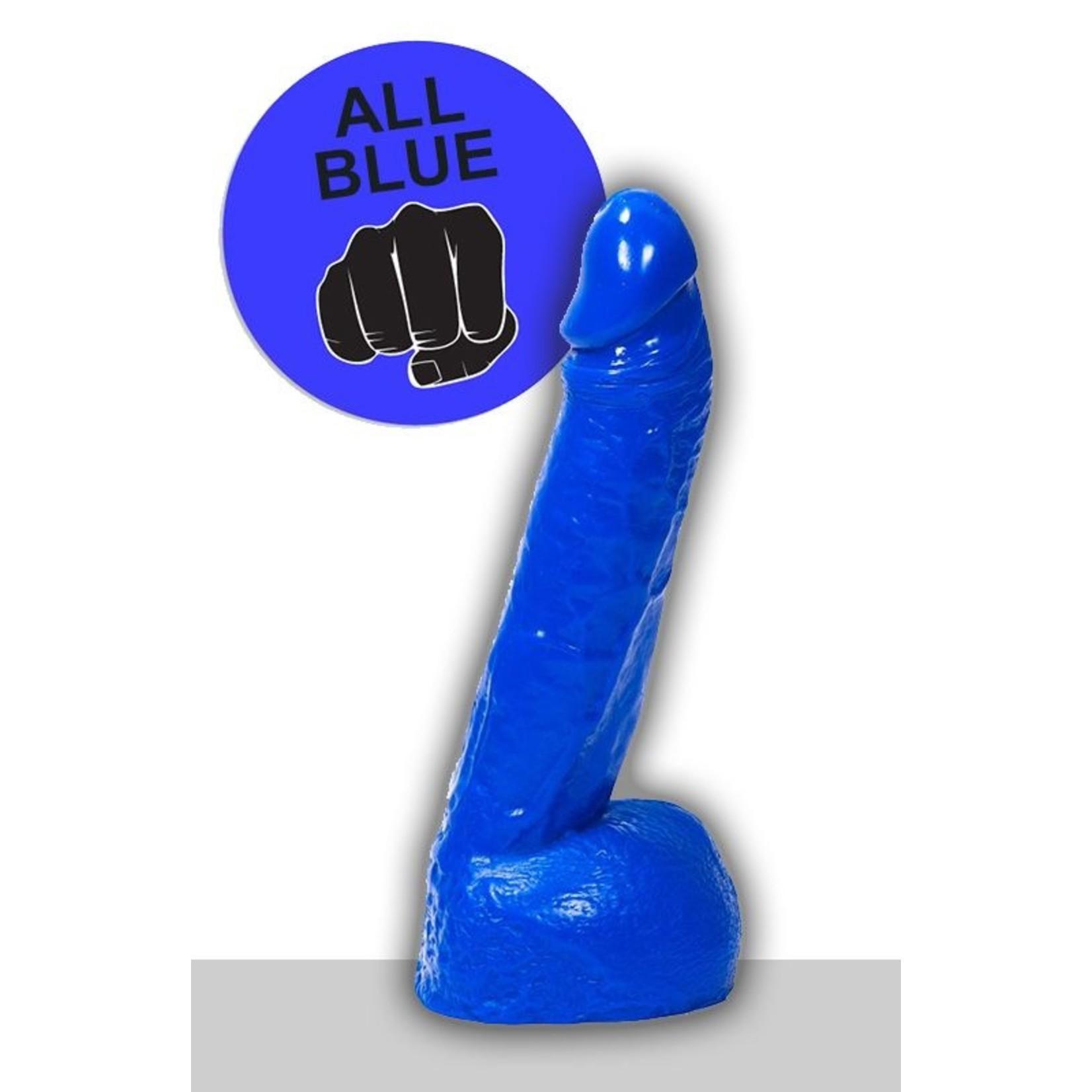 All Black All Blue Dildo - ABB 11