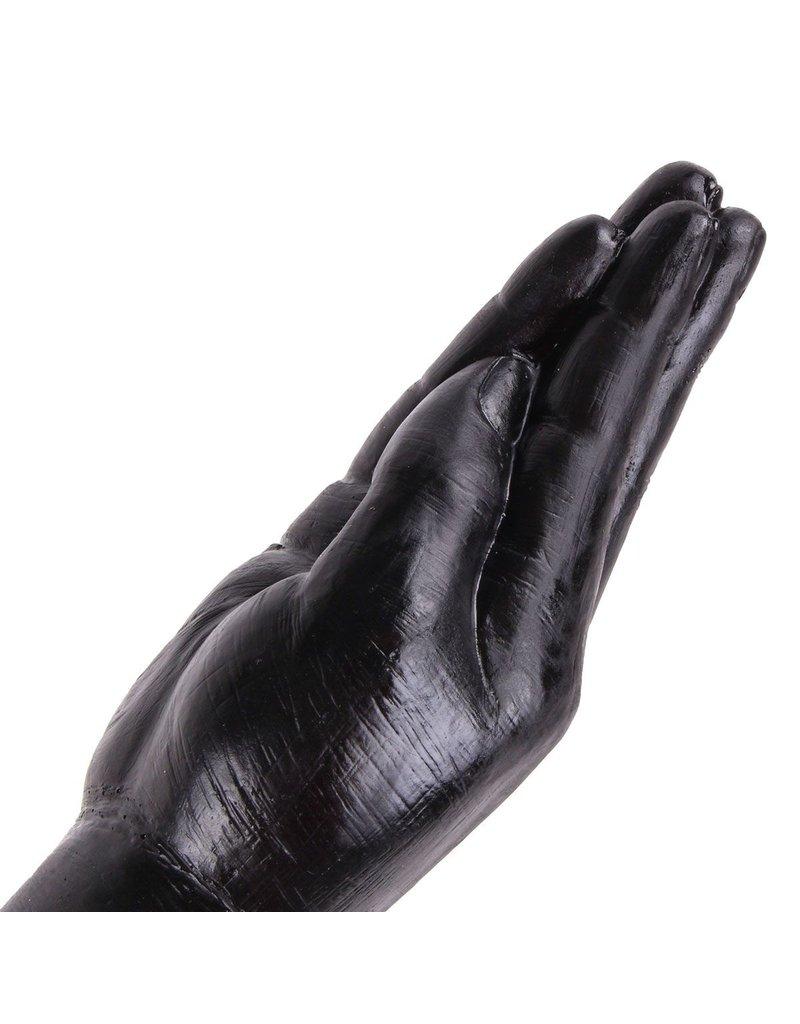 Dinoo Dildos Dinoo King-Size Dildo - Hand Small Zwart