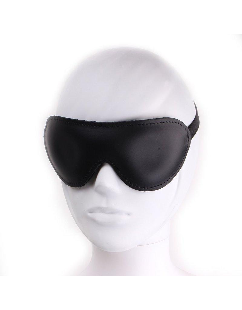 KIOTOS Leather Blindfold Deluxe Eyemask