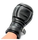 KIOTOS Leather BDSM Leather Handschoenen Zwart