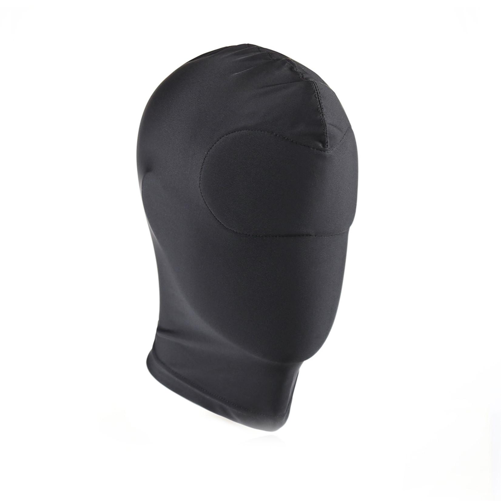KIOTOS Leather Black BDSM Hood Blind