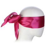 KIOTOS Leather Rose Blindfold Satin Look