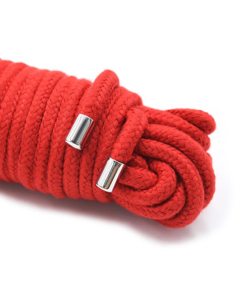 KIOTOS 20 Meter BDSM Cotton Rope Red