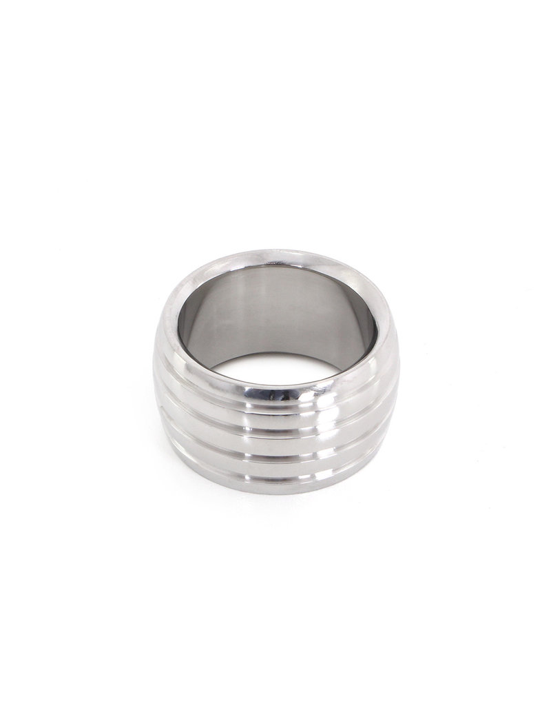 KIOTOS Steel Fancy Steel Donut Cockring 35 mm