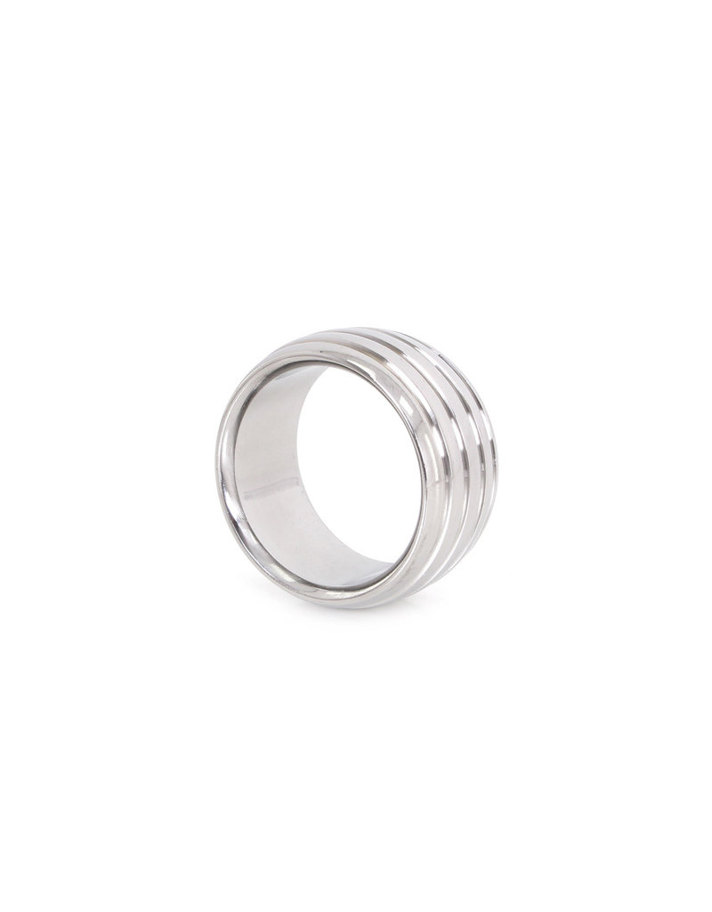 KIOTOS Steel Fancy Steel Donut Cockring 40 mm