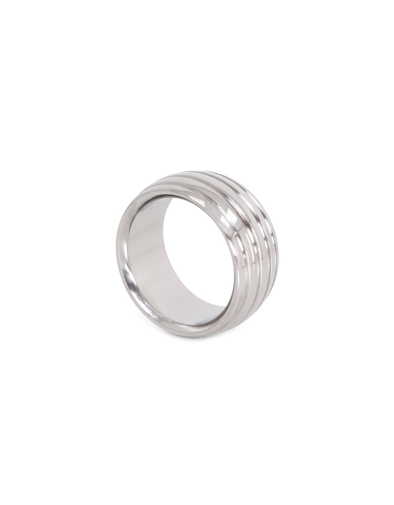 KIOTOS Steel Fancy Steel Donut Cockring 45 mm