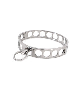 KIOTOS Steel Steel Collar Open Circles M 11.5 cm