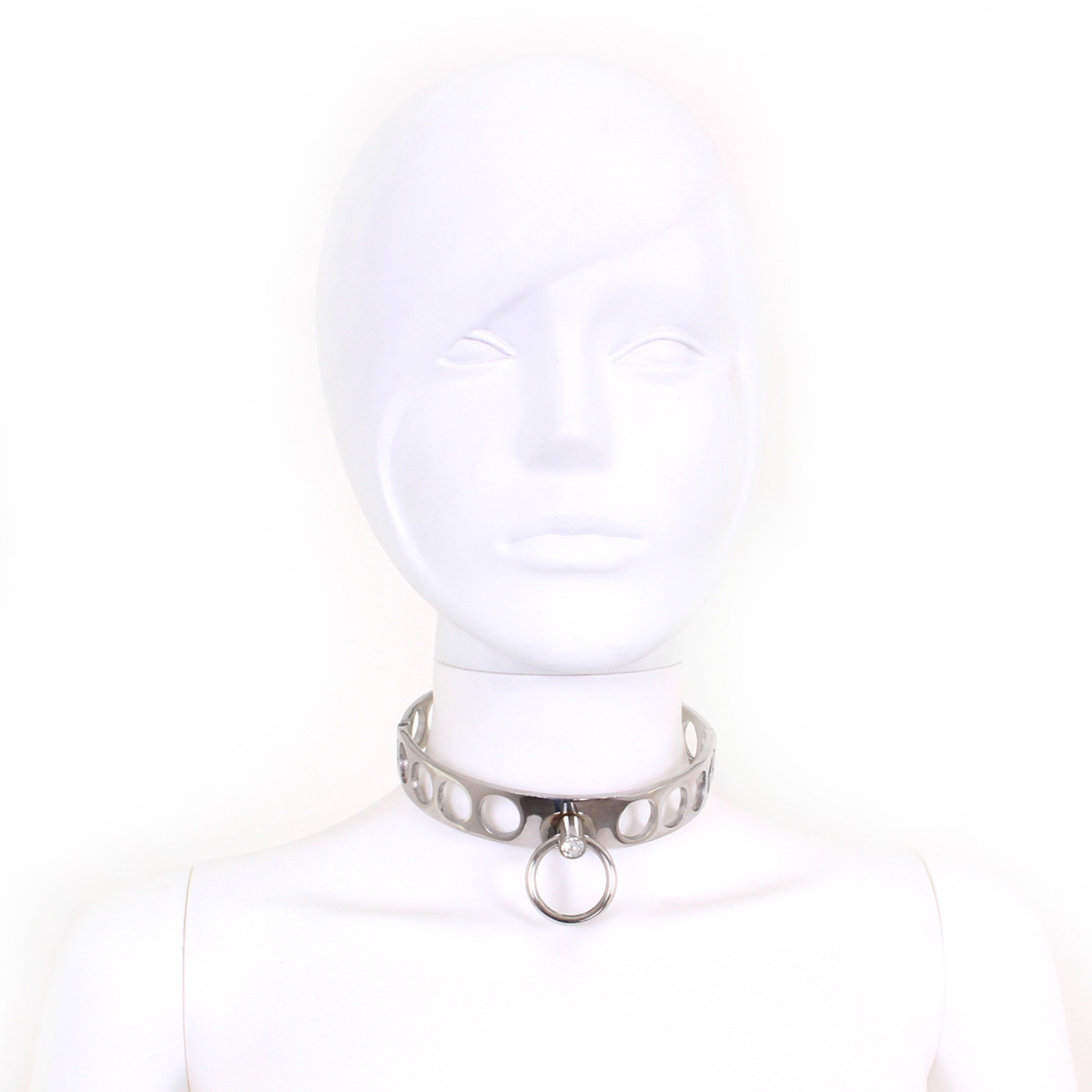 KIOTOS Steel Steel Collar Open Circles L 13.5 cm