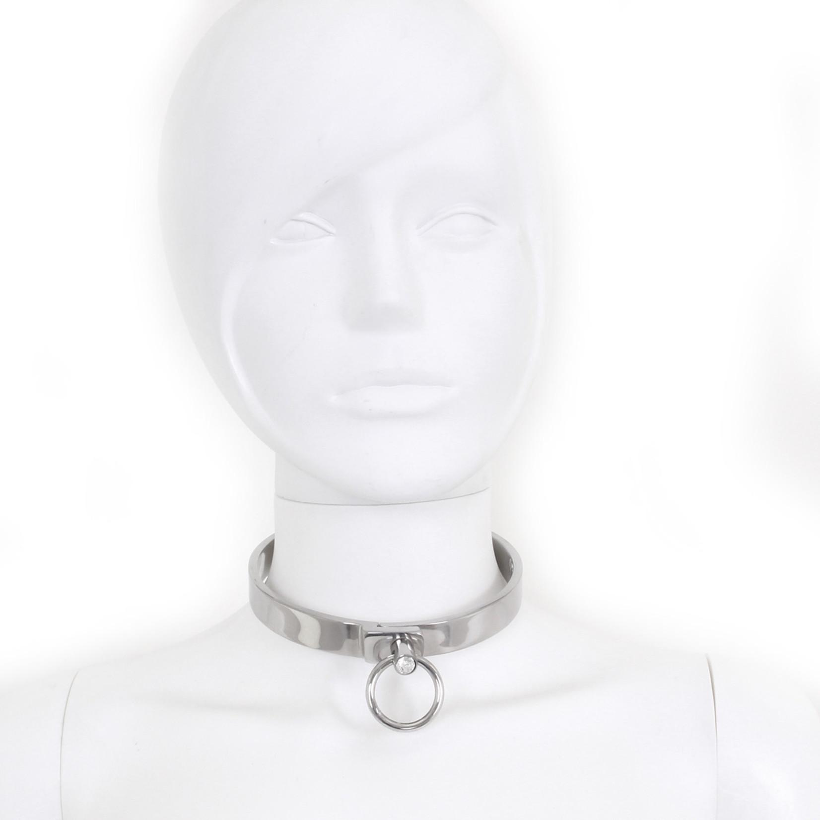 KIOTOS Steel Steel Collar Solid M 11.5 cm