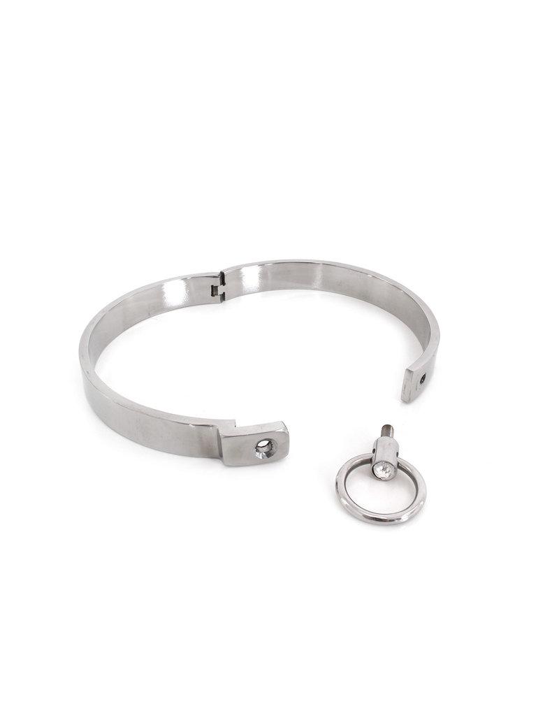 KIOTOS Steel Steel Collar Solid L 13.5 cm