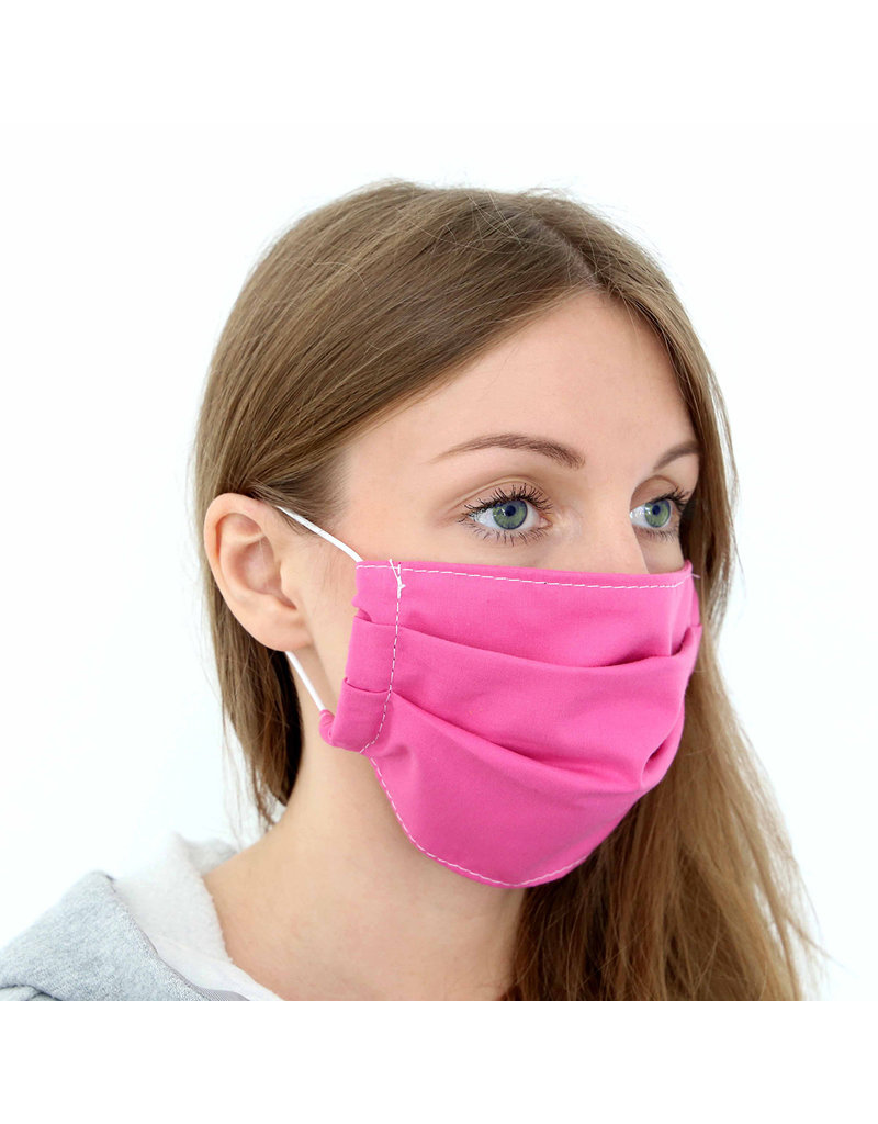 KIOTOS Stoffen Mondmasker Roze met filter