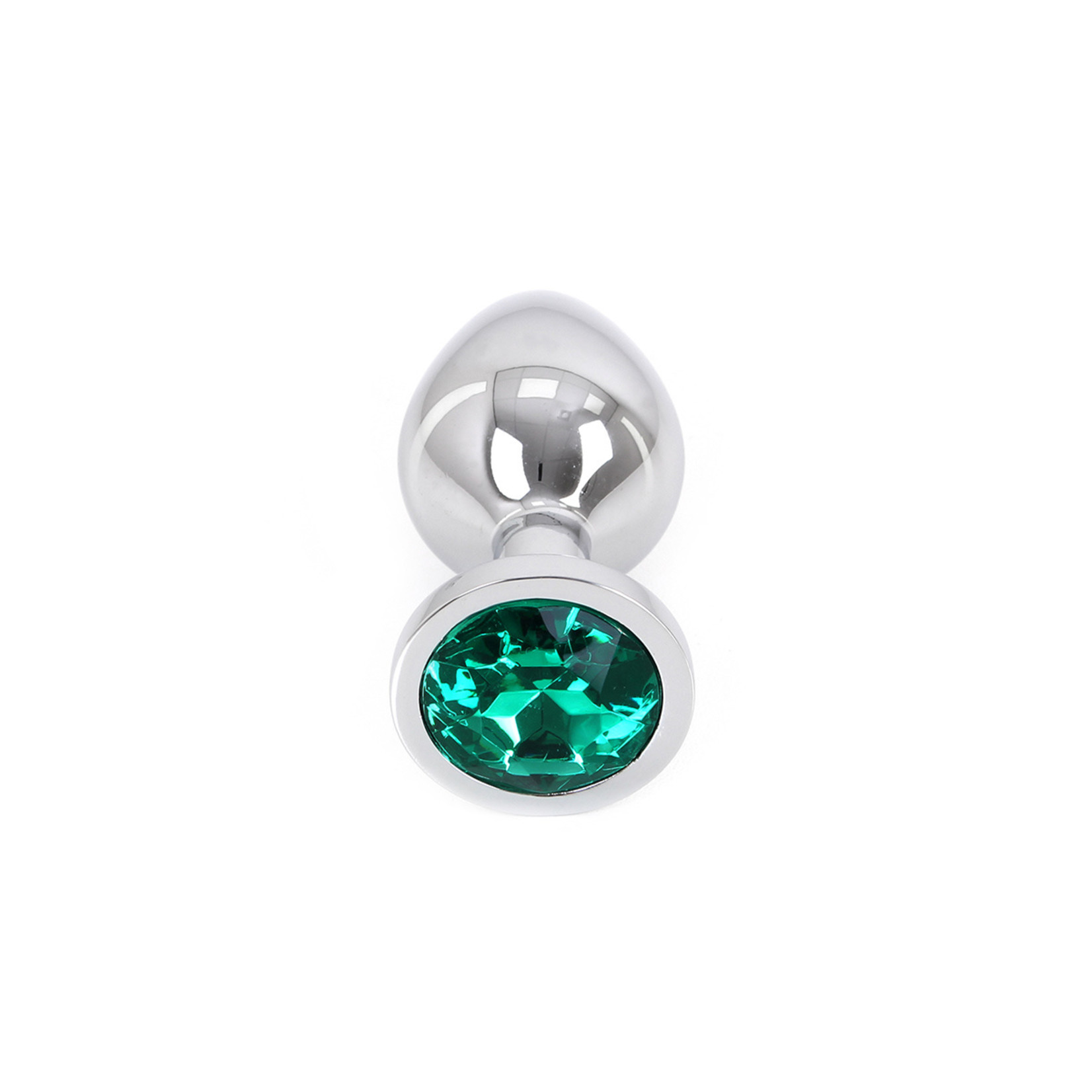 KIOTOS Buttplug Aluminium Green Medium