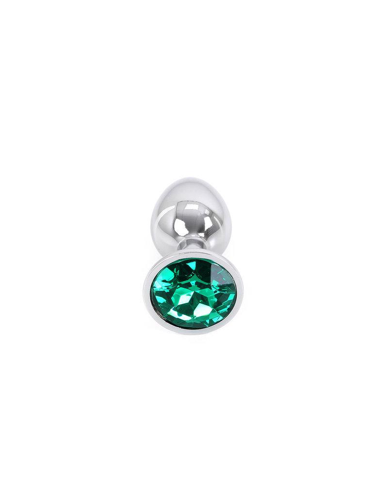 Perfect Lover Buttplug Aluminium Green Small