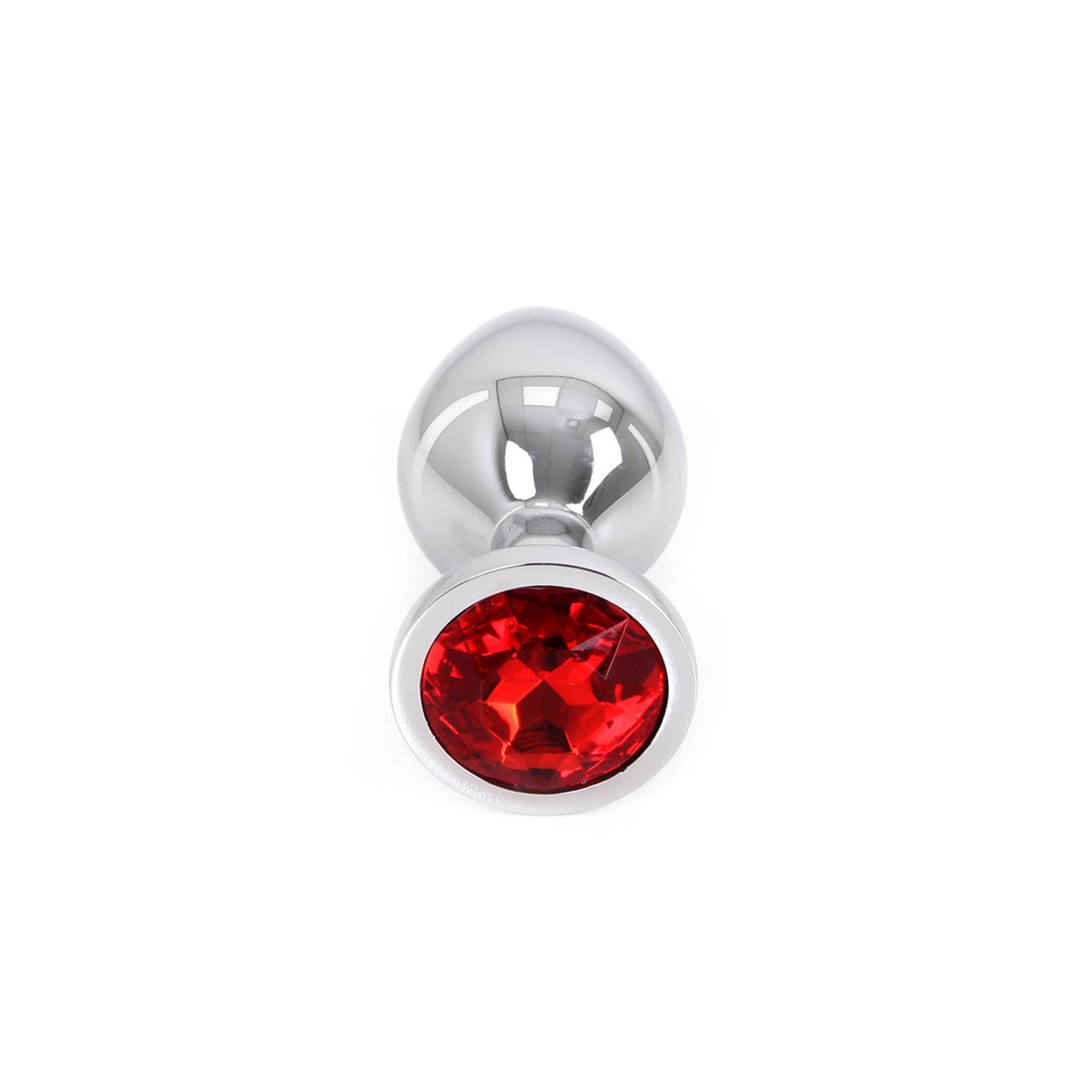 KIOTOS Butt plug Aluminium Medium Red