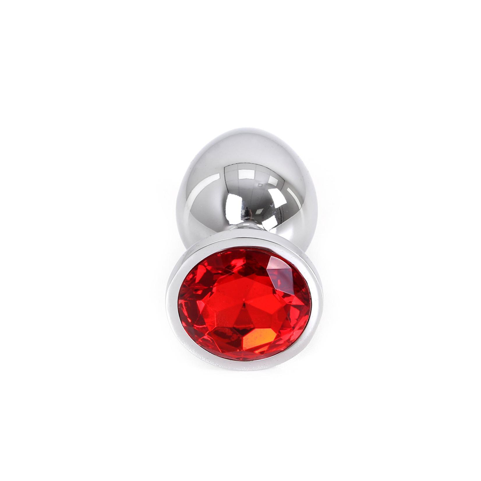 KIOTOS Butt plug Aluminium Large Red