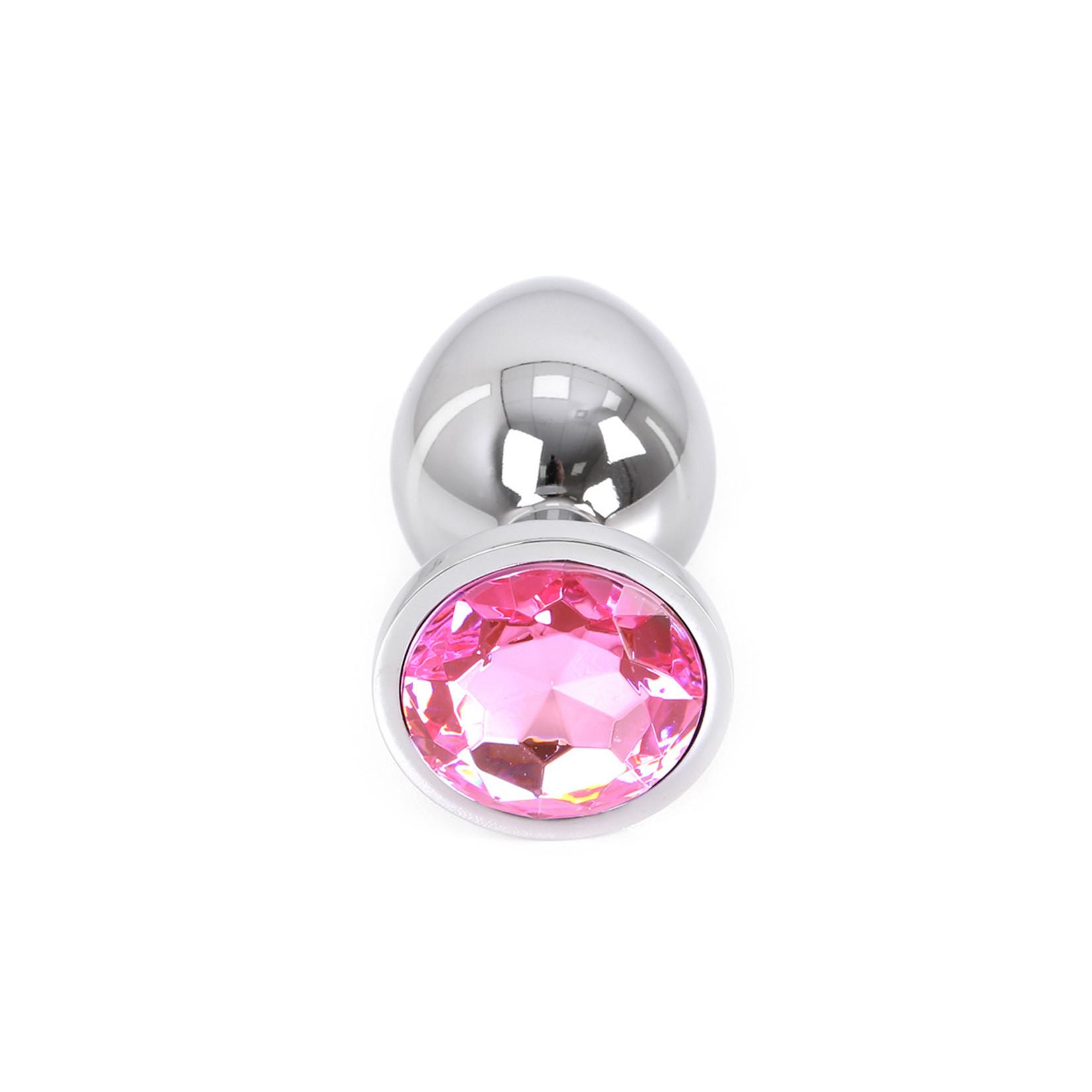 KIOTOS Butt plug aluminium Large Pink