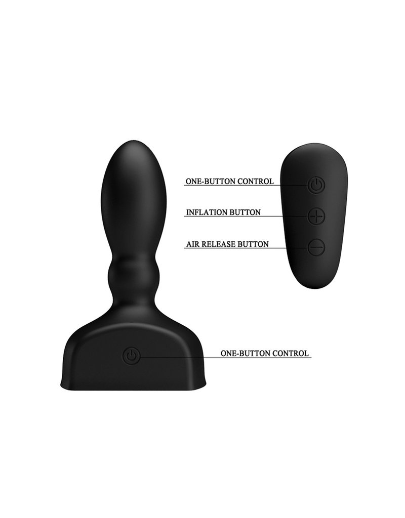 Mr Play Mr. Play Inflatable Vibrating Anal Plug Deluxe